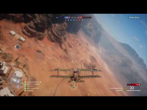 BF1 PS4 Beta Plane Gameplay + Day 1 Highlights