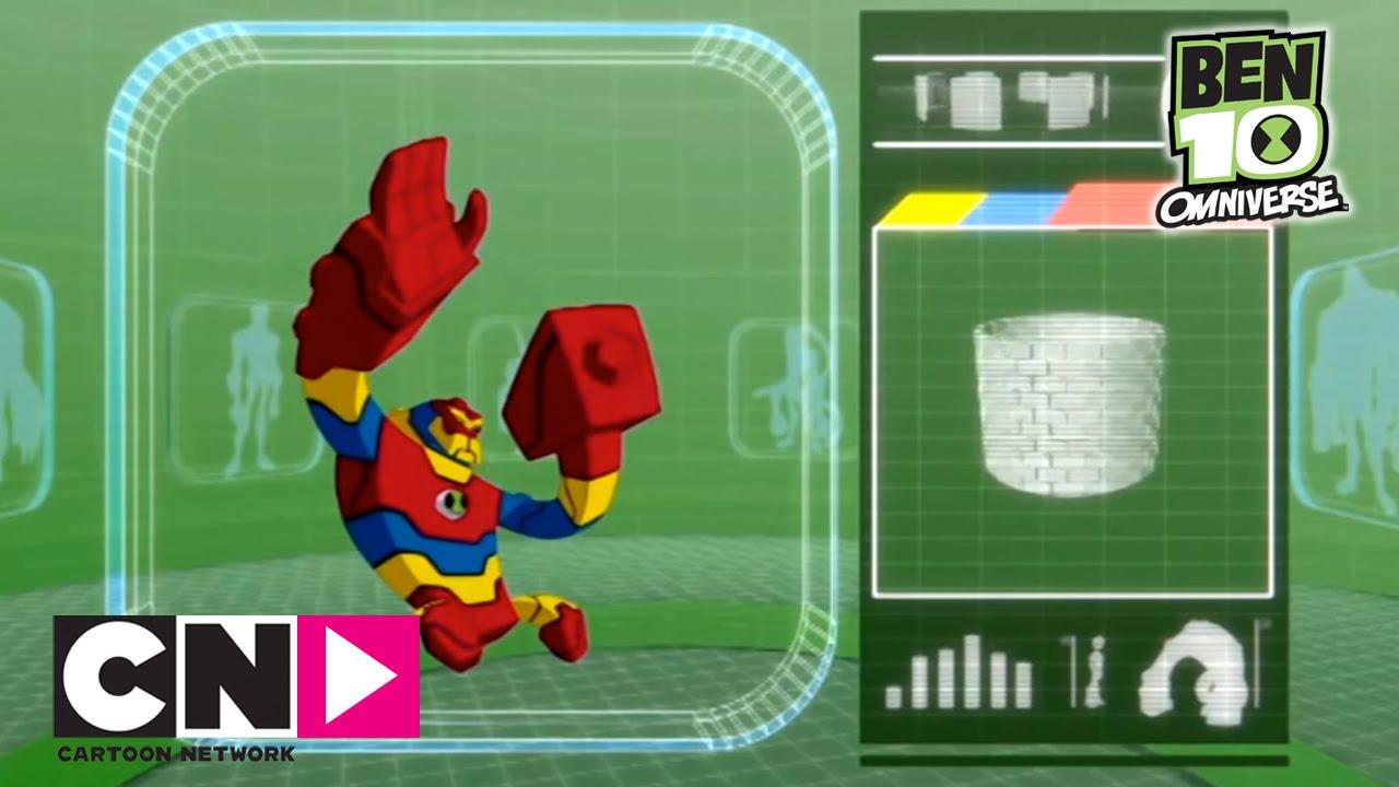 Bloxx ben 10 omnivers cartoon network youtube - Ben 10 tous les aliens ...