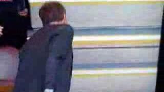 Doug Ellis shakes Abramovich's Hand