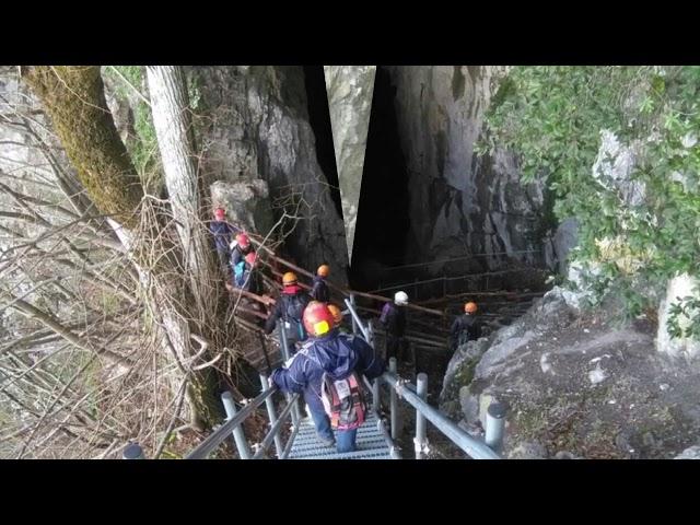 Lago Laceno escursioni: visita all'androne della grotta del Caliendo
