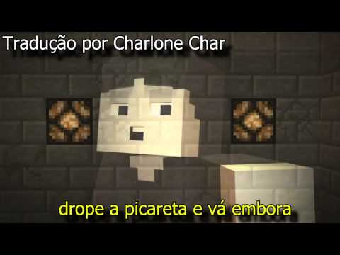 Don't Mine At Night   Legendado PT-BR - A Minecraft Parody of Katy Perry's Last Friday Night