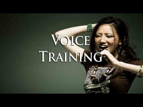 Ejercicios de vocalización  /Clases de canto/ Técnica Vocal/