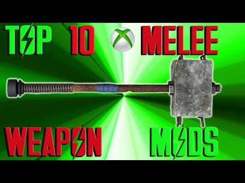 Fallout 4 Top 10 MELEE weapon mods