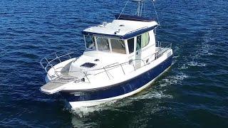 Легендарный морской внедорожник Nord Star 28 Patrol | Всепогодный катер для морcких путешествий.