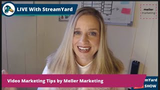 How to Be More Effective at Marketing Your Videos - LinkedIn LIVE by Brenda Meller