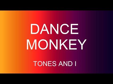 Tones and I - Dance Monkey Traduzione italiano