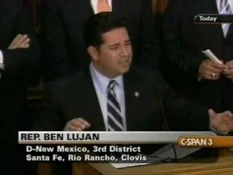 Rep. Ben Ray Lujan Highlights Energy Provisions in the House Budget
