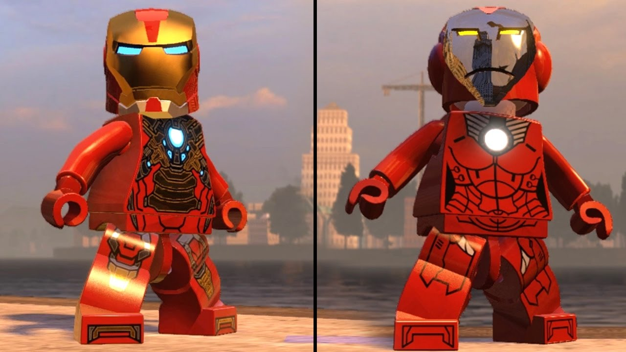 IRON MAN (MK17 - HeartBreaker) vs RESCUE (INSANE FIGHT ...