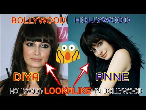 bollywood celebrities and their hollywood lookalikes