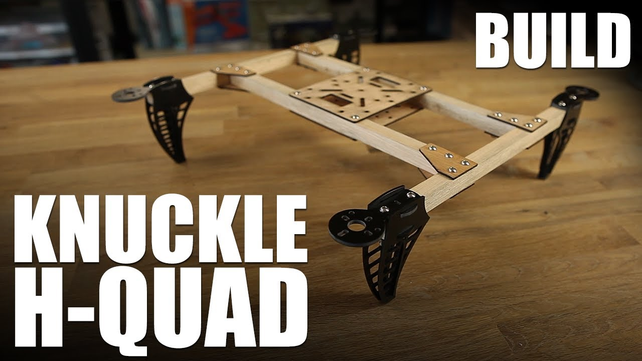 Flite Test - Knuckle H-Quad - BUILD - YouTube