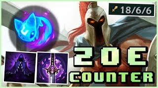 ZOE COUNTER?! Pantheon Gameplay Guide, Summon Aery Lanebully (LoL Patch 7.23 Pre-Season 8)