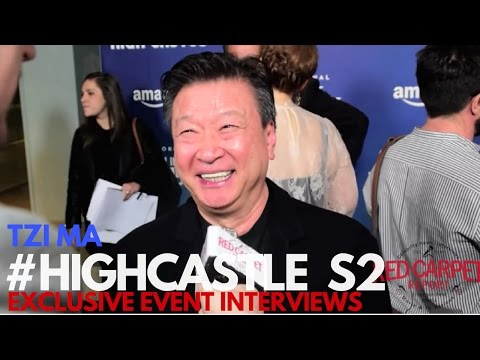 Tzi Ma Interviewed at The Man in the High Castle Season 2 Premiere #HighCastle