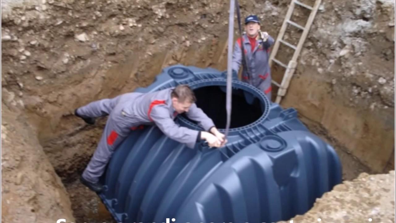 Riparazione Cisterna Interrata In Polietilene