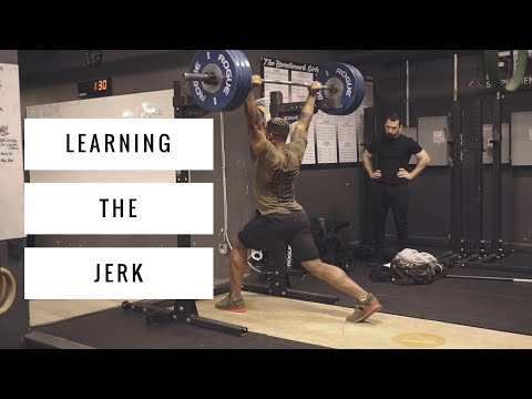 Learning the Jerk   Oly Weightlifting Ft. Nick Novak Ep.6