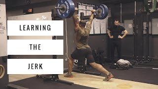Learning the Jerk | Oly Weightlifting Ft. Nick Novak Ep.6