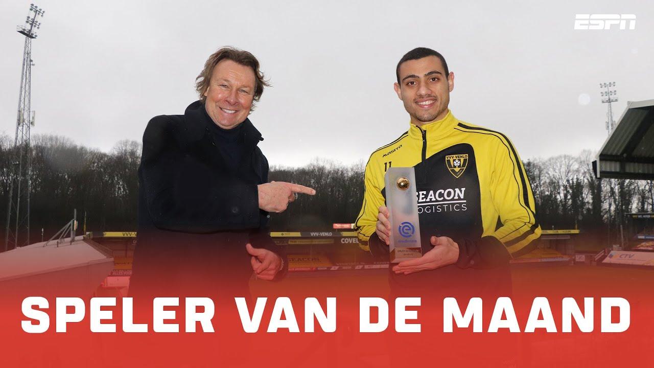 Georgios Giakoumakis Speler van de Maand januari | Eredivisie - ESPN NL
