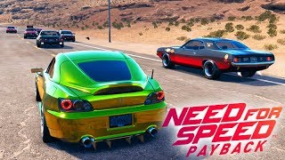 NEED FOR SPEED PAYBACK - A CORRIDA NOTURNA de CARRO NOVO! #04