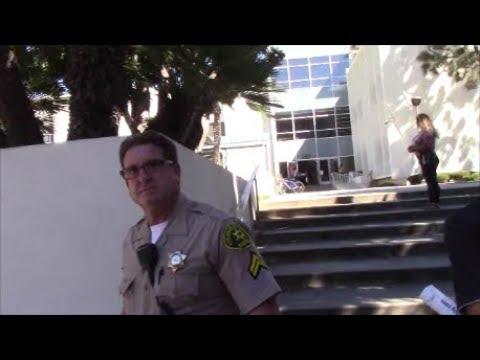 """1st Amendment Audit, Santa Monica Courthouse: Security Says """"No Pictures"""""""