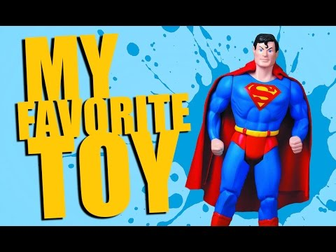 MY FAVORITE TOY ~ SUPER POWERS COLLECTION SUPERMAN