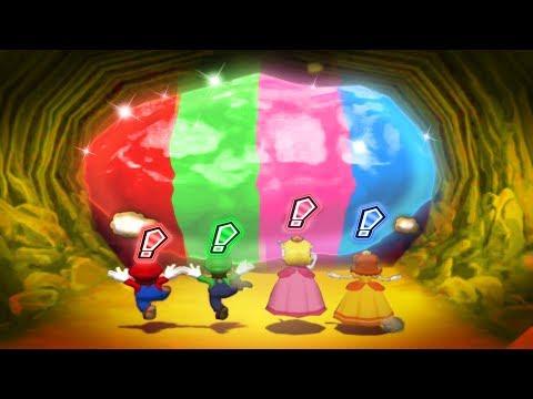 Mario Party 6 MiniGames - Mario Vs Peach Vs Luigi Vs Daisy (Master Cpu)