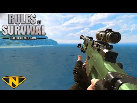 Bitter Lake Sniping! (Rules of Survival: Battle Royale #118)