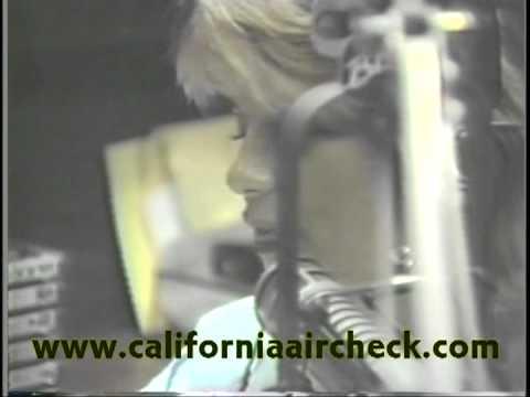 B-100 KFMB-FM San Diego Ellen Thomas (Ellen K.) 1987 California Aircheck Video