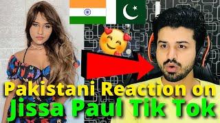 Pakistani React on Jissa Paul Latest TIKTOK VIDEOS | Indian Dancer | Reaction Vlogger