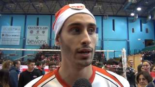 18-12-2016: #SuperLega - Partenio nel post Molfetta - Verona 3-0