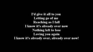 RED - ALREADY OVER (LYRICS)