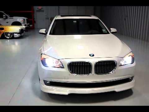 2012 BMW 750Li >> BMW 750LI ALPINA, VORSTEINER BODY KIT - YouTube