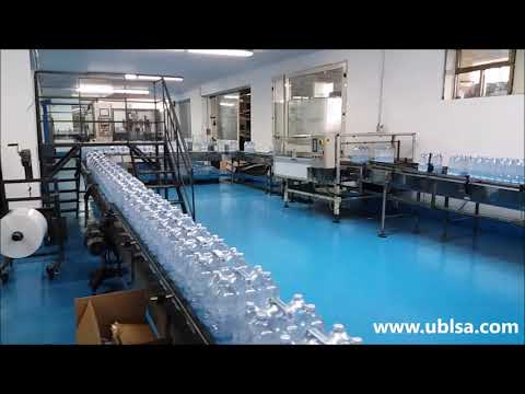 Complete line for still water 15 000 bph 2 liters