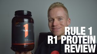 Rule 1 R1 Protein Powder Supplement Review Best Protein Powder WPI(Rule 1 R1 Protein Powder supplement review with Managing Director Pat Dickson. Shop for Rule 1 R1 Protein here: ..., 2016-06-22T23:00:01.000Z)