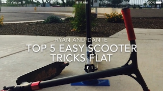 Top 5 easy scooter tricks
