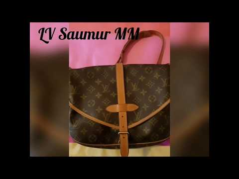 Louis Vuitton LV Saumur (double sided) Saddle bag - what s inside and do I recommend  it  8b1afa688fe4e