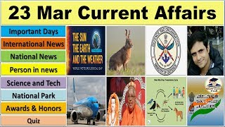 23 March 2019 PIB News, The Hindu, Indian Express - Current Affairs in Hindi, Nano Magazine, VeeR