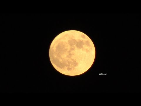 Supermoon ★ Houston, Texas October 15, 2016