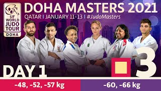 Day 1 - Tatami 3: Doha World Judo Masters 2021