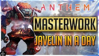 ANTHEM: MASTERWORK LEVELING GUIDE! HOW TO GEAR UP IN ANTHEM!