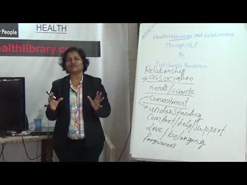 Health Happiness and  Relationship Through NLP By Prof. Sunita Bandekar HELP Talks Video