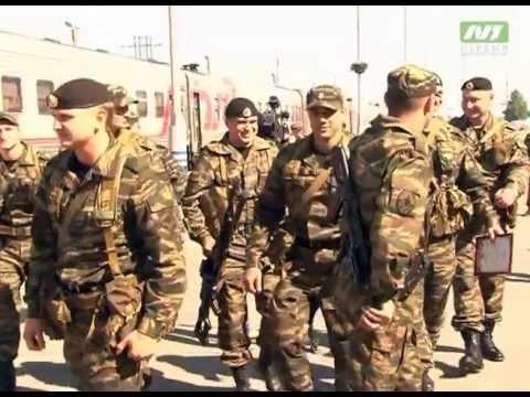 Бойцы ОМОН вернулись из командировки. Почти год без семьи и друзей