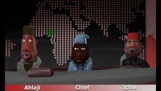 Revolución africana: de dibujos animados Divertidos (N-informe INEC) (Episodio 2) (C) Blackhouse Animation Studios