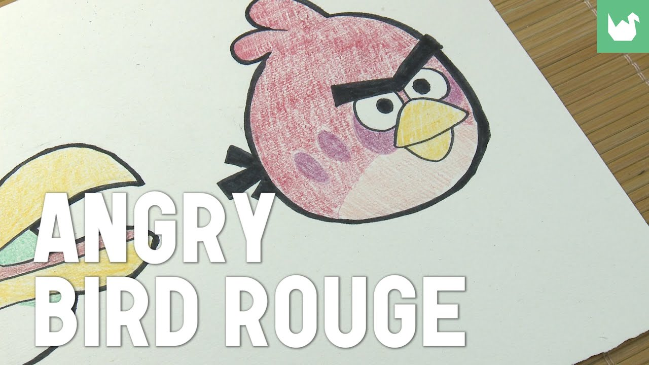 Angry bird rouge youtube - Angry birds rouge ...