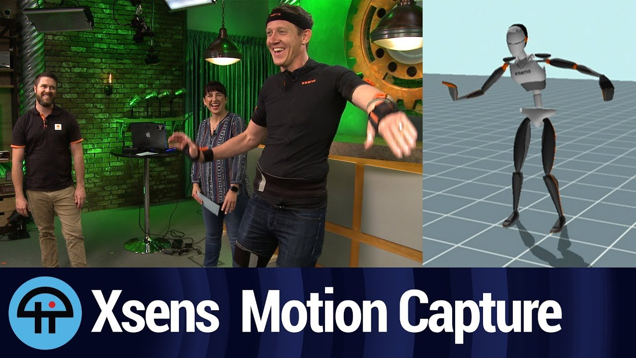 Xsens 3D Motion Capture System with Inertial Sensors