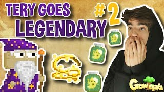 1000 MIND GHOSTS!! 😱 | Tery Goes Legendary #2 | Growtopia