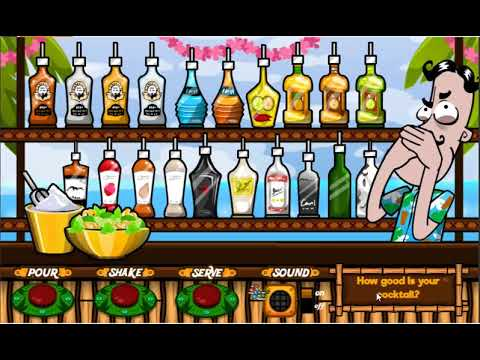 Bartender The Right Mix Y8 Games Relax Life Youtube