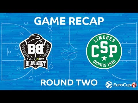 Highlights: Retabet Bilbao Basket - CSP Limoges