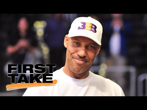 First Take reacts to LaVar Ball pulling LaMelo out of Chino Hills ...