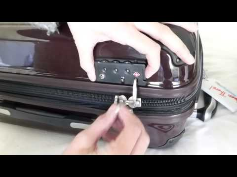 Ricardo Luggage TSA Accessible Lock