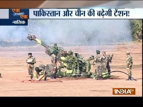 Indian Army inducts K9, M777 howitzer guns in presence of Nirmala Sitharaman