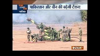 Video Indian Army inducts K9, M777 howitzer guns in presence of Nirmala Sitharaman download MP3, 3GP, MP4, WEBM, AVI, FLV November 2018